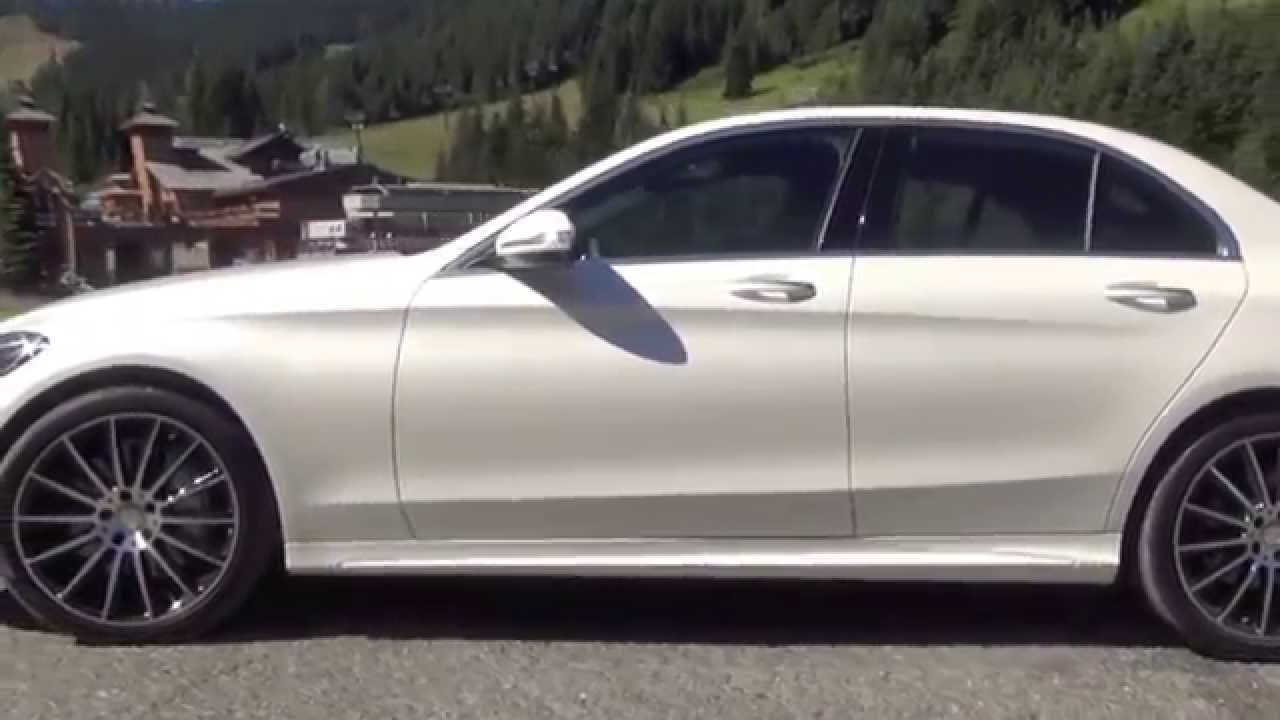 2015 Mercedes-Benz C400 Class drive up and down Mount ...