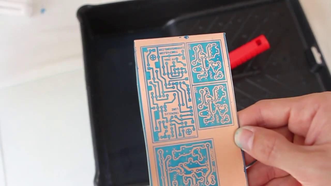 Placa circuito impresso fotografico 31