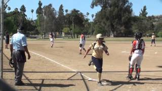 Lincoln High Tigers vs Franklin Panthers Softball 2015