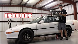 Had To Take The Mr2 Apart After The First Pass...