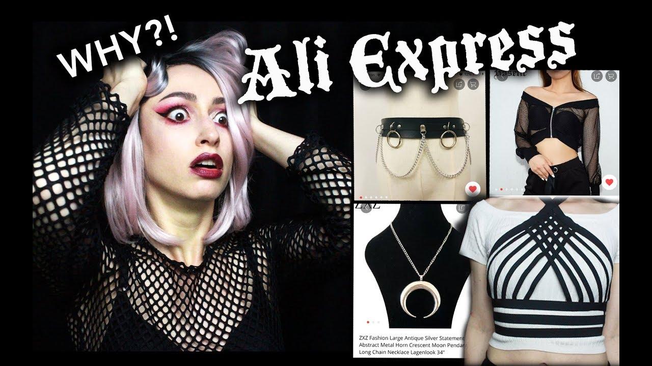 I SPENT OVER $100 AT ALIEXPRESS | Goth Aliexpress Haul :D