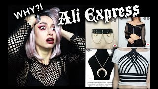 I SPENT OVER $100 AT ALIEXPRESS | Goth Aliexpress Haul :D