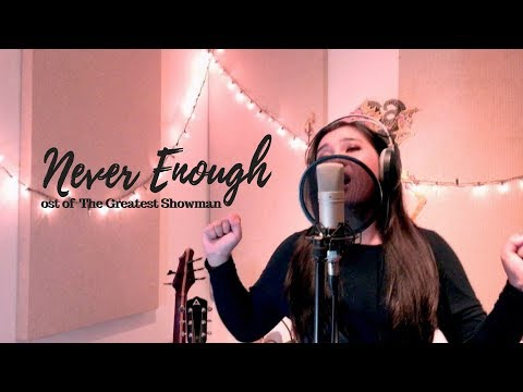 """Never Enough - Loren Allred """"OST The Greatest Showman"""" (cover By Leona Untari)"""