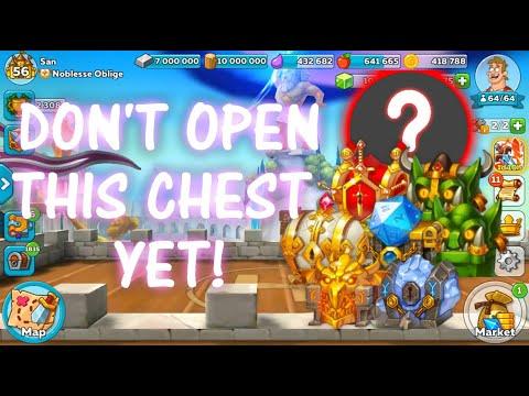 Don't Open This Chest Yet! - HUSTLE CASTLE
