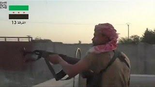 تنظيم الدولة الاسلامية يزحف تحو الحسكة رغم غارات التحالف   5-6-2015