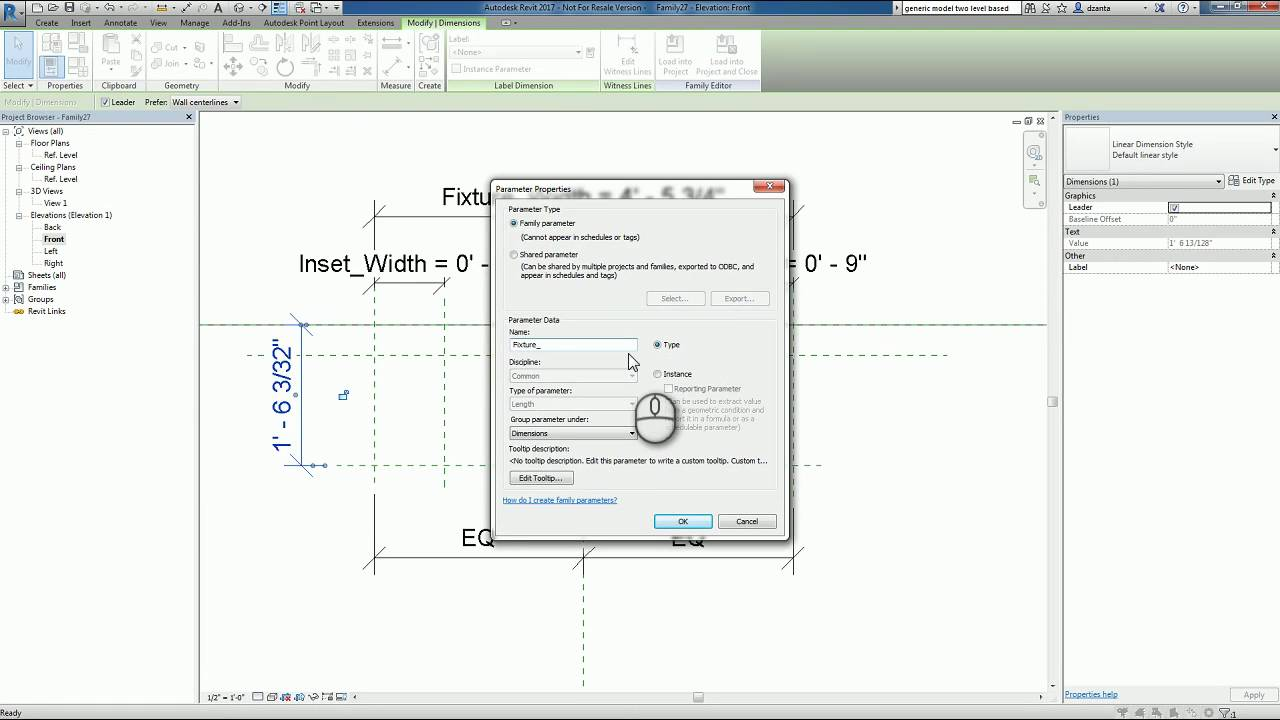 Revit Families Series Custom Light Fixture Ceiling Based How To