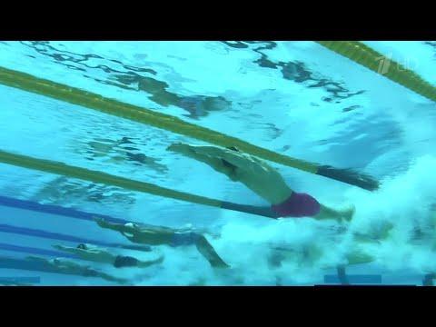 Россиянин Евгений Рылов победил на дистанции 200 метров на спине.
