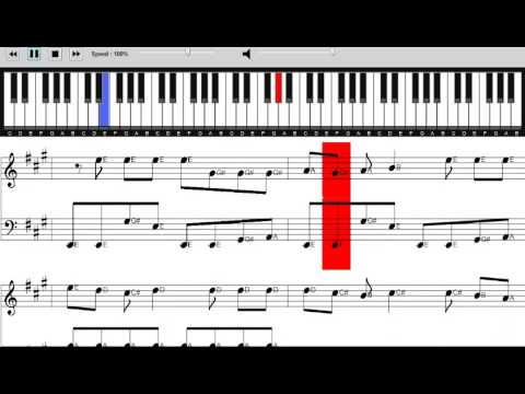 5 Seconds of Summer - Hey Everybody! Sheet Music Score - Piano Tutorial