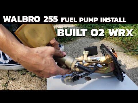 How to Install Walbro 255 Fuel Pump – Built 02 Subaru WRX