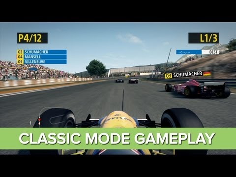 F1 2013 Classic Edition Gameplay  3 Cars You Need To Drive