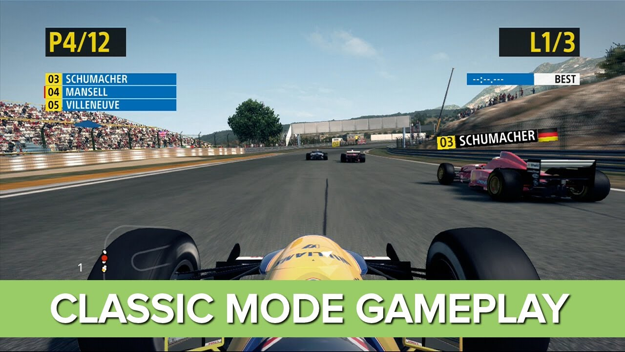 F1 2013 Classic Edition Gameplay 3 Cars You Need To Drive Youtube