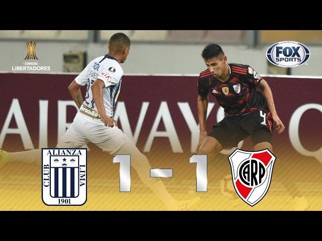 EMPATE HERÓICO! Veja melhores momentos de Alianza Lima 1 x 1 River Plate pela Conmebol Libertadores