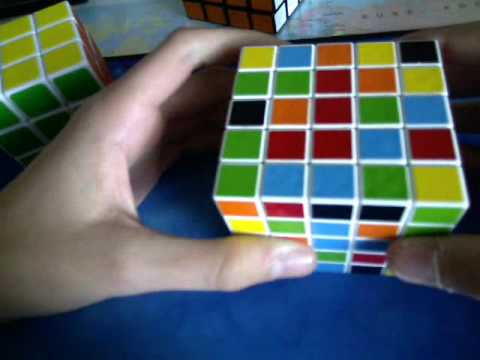 5x5x5 rubiks cube l sung youtube. Black Bedroom Furniture Sets. Home Design Ideas