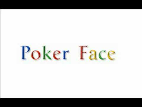 Lirik poker face translate