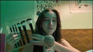 Asmr mic brushing and personal attention