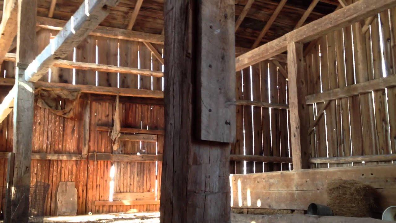 Abandoned Farm Barn Video