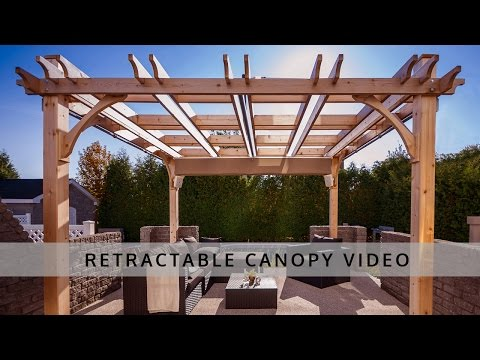 Pergola Retractable Canopy | Outdoor Living Today
