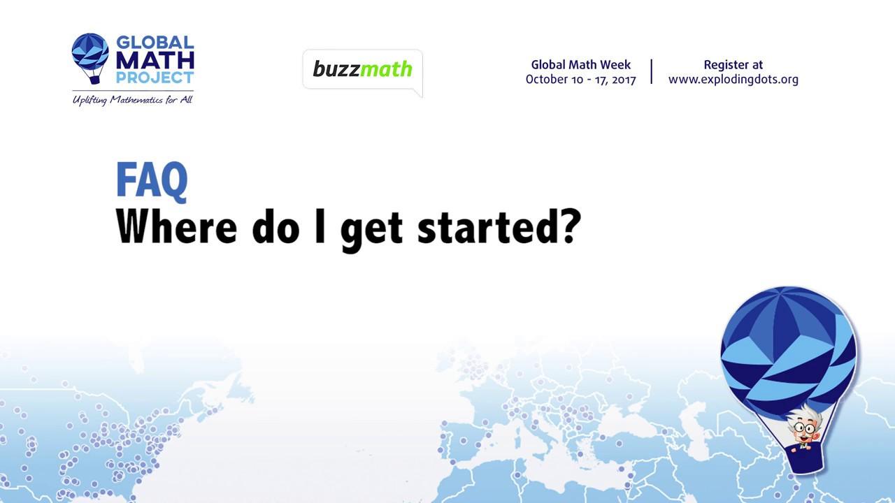 Buzzmath GMP FAQ number 4