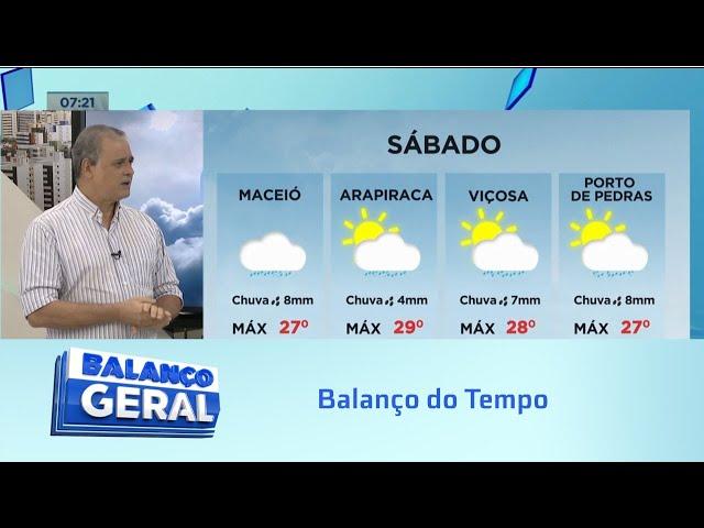 Balanço do Tempo: Frente fria que atinge a região sul tem impacto aqui em Alagoas?