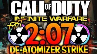 fast 2 07 de atomizer strike in infinite warfare cod iw fast nuke multiplayer gameplay