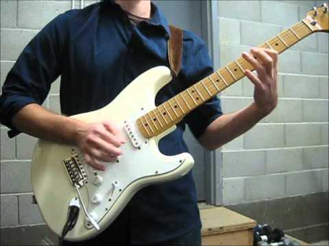 "Jimi Hendrix ""Little Wing/Angel"" South Saturn Delta (w/ Fender Classic Series 70s Strat)"