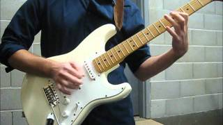 "Jimi Hendrix ""Little Wing/Angel"" South Saturn Delta (w/ Fender Classic Series 70s Strat)"