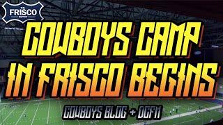 Cowboys Camp in Frisco Begins Today