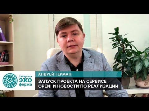 Запуск проекта «Сибирская экоферма» на сервисе Openi