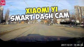 Відеореєстратор Xiaomi Yi Smart Dash Cam, приклад відео зі звуком, день + скачати оригінали