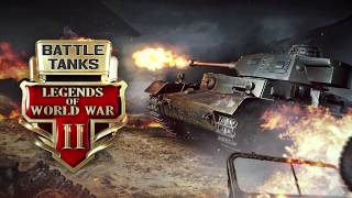 Battle Tanks: Legends of World War II Release Trailer (RU)
