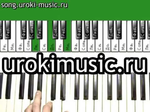 Песни на пианино Билан