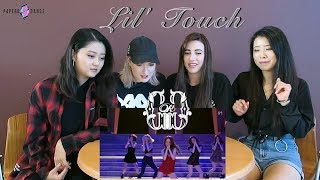 [MV REACTION] LIL' TOUCH (몰랐니) - OH!GG | P4pero Dance