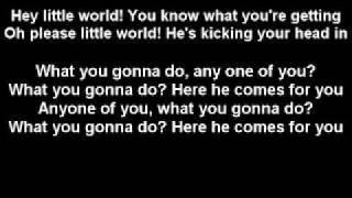 Hey Little World - The Hives (Lyric Video)