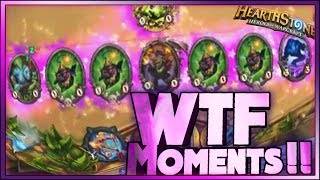 Hearthstone - BOOM FACE Boomsday WTF Moments - Daily Funny Rng Moments 25