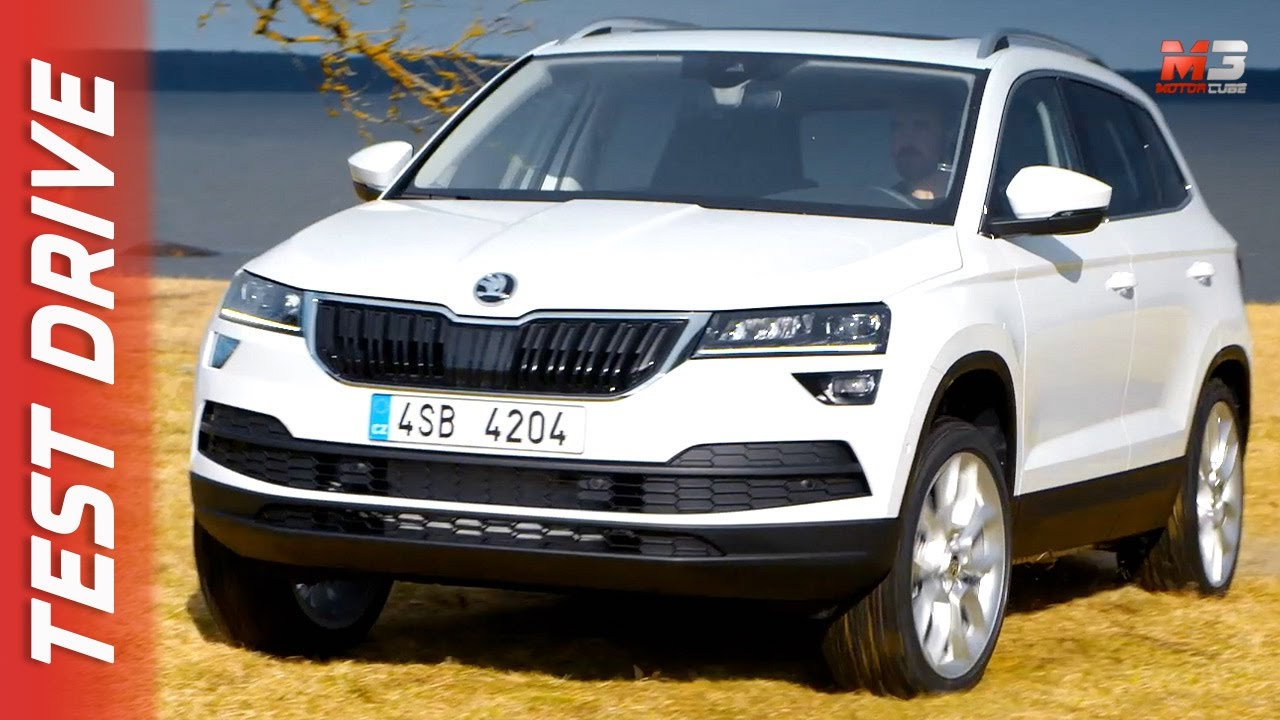 new skoda karoq 2017 first test drive youtube. Black Bedroom Furniture Sets. Home Design Ideas