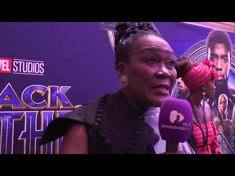 Black Panther premieres in South Africa