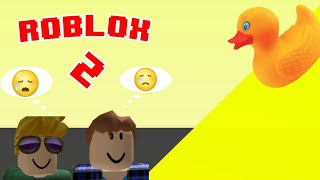 We Fall A Duck in ROBLOX😱😱😱😱 2-AngelUriel19