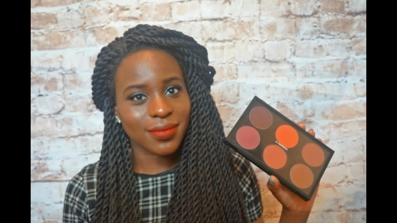 mac blushes for dark skin review amp swatches youtube