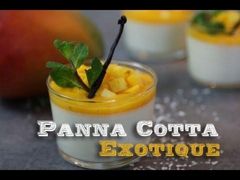 recette-panna-cotta-exotique-:-citron-vert-noix-de-coco-,-coulis-mangue-ananas