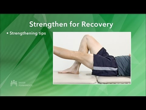 Managing Your Knee Pain Strengthen for Recovery