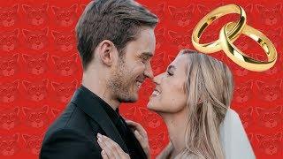 PEWDIEPIE & MARZIA GET MARRIED!