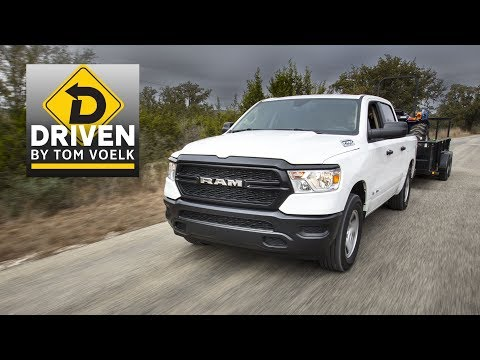 2019 Ram 1500 Tradesman 5.7-Liter V8 Review