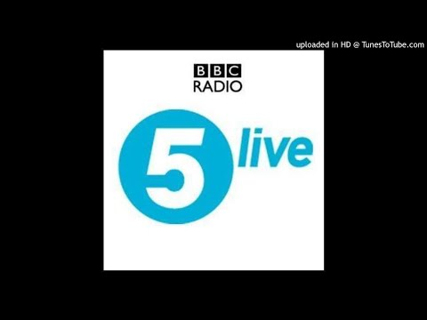 BBC Radio five live with crisis in DRCongo