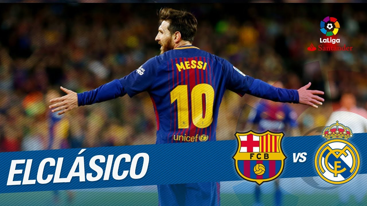 Goal of Messi (2-1) FC Barcelona vs Real Madrid