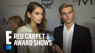 Kaia Gerber Talks Walking in First Runway Show at NYFW | E! Red Carpet & Award Shows