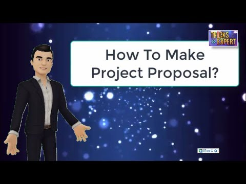 How To Make/Write A Project Proposals For NGOs | Trust | Project Proposal Writing In Hindi
