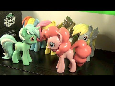My Little Pony Funko PINKIE PIE & LYRA HEARTSTRINGS Vinyl Figures Review! By Bin's Toy Bin