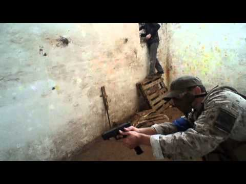 Slaughter House - first person shooter (Airsoft game / war, Cape Town ,South Africa)