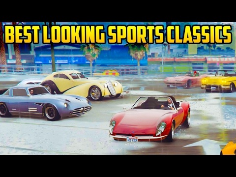Top Best Looking Sports Classic Cars In Gta Online Youtube