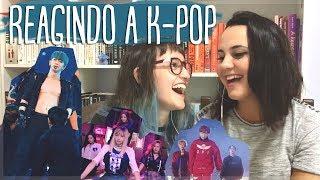 minha amiga reagindo a k-pop!!! | ana karolini m